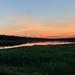 Sunset at the Dike Bridge in Machias, Maine