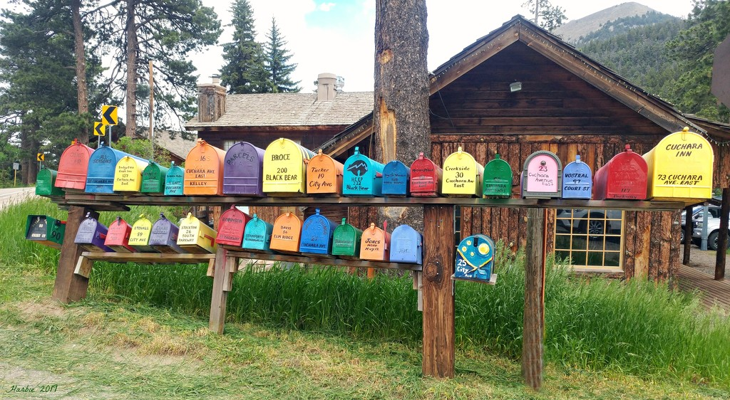 What Color is Your Mailbox? by harbie