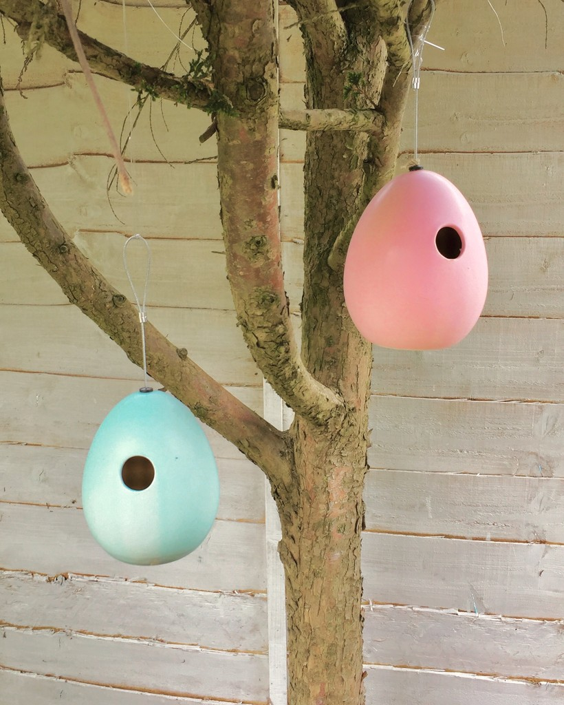 Cute hanging bird houses by lilaclisa