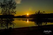 9th Jul 2019 - Sunset on Svorksjøen