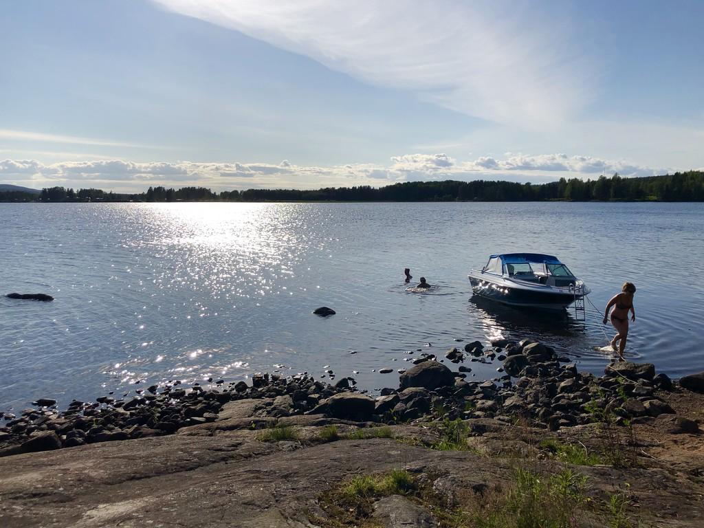 BBQ on an Island in Sweden by loweygrace