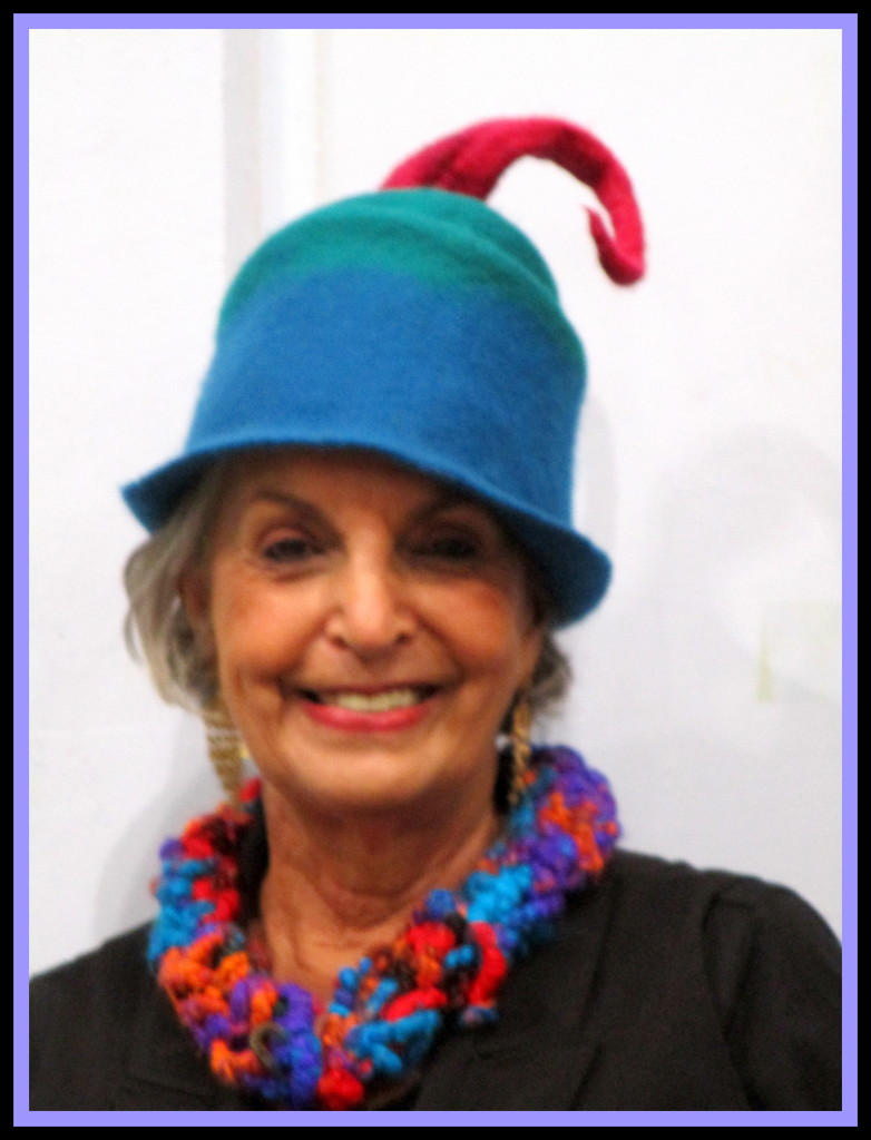 One of the stall holders in her new felt hat by 777margo