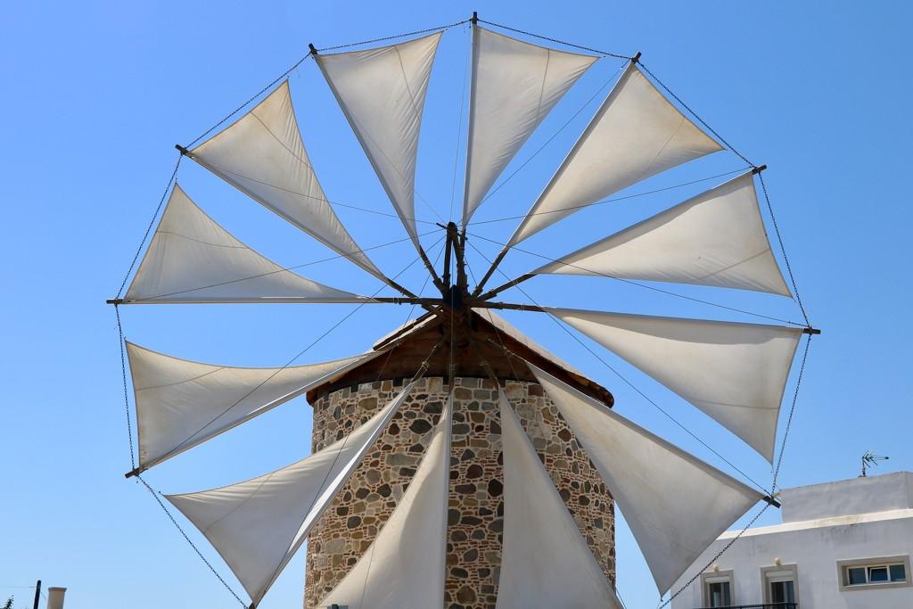 Greek windmill by momamo