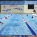 Morning swim training