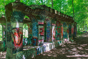 10th Jul 2019 - More graffiti in the woods.
