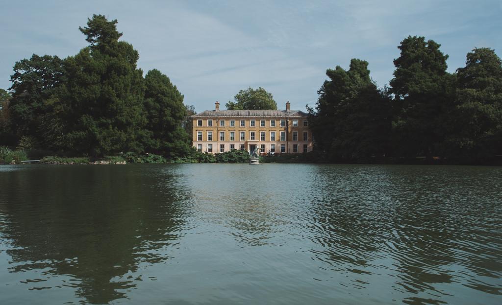 Kew Gardens framed by brigette