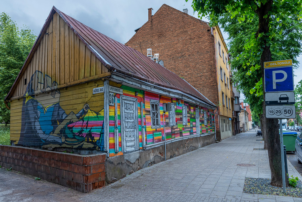 Colourful Shed by ellida