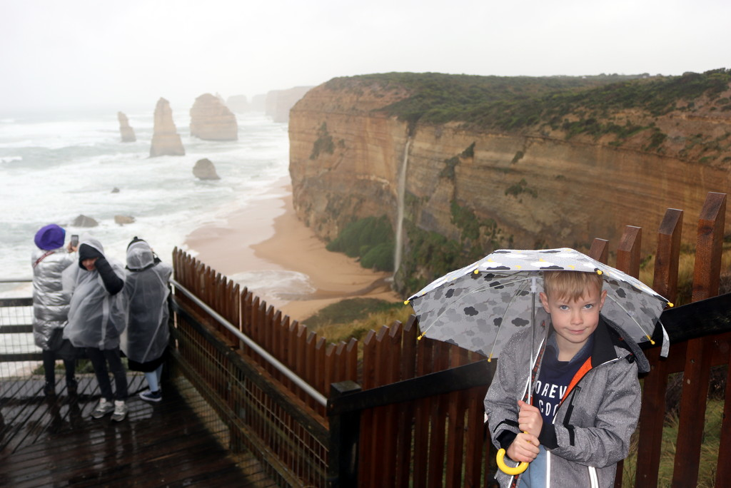 Brolly boy's magical moment by gilbertwood