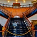 The Cotton Belt Hotel grand staircase, a.k.a. Puffy's Place