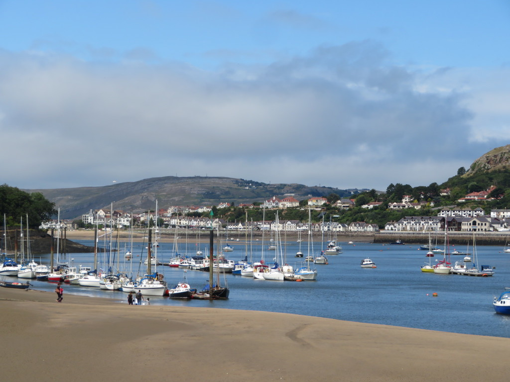The Quay at Conwy by lellie