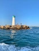 11th Jul 2019 - Fishermen at the lighthouse.
