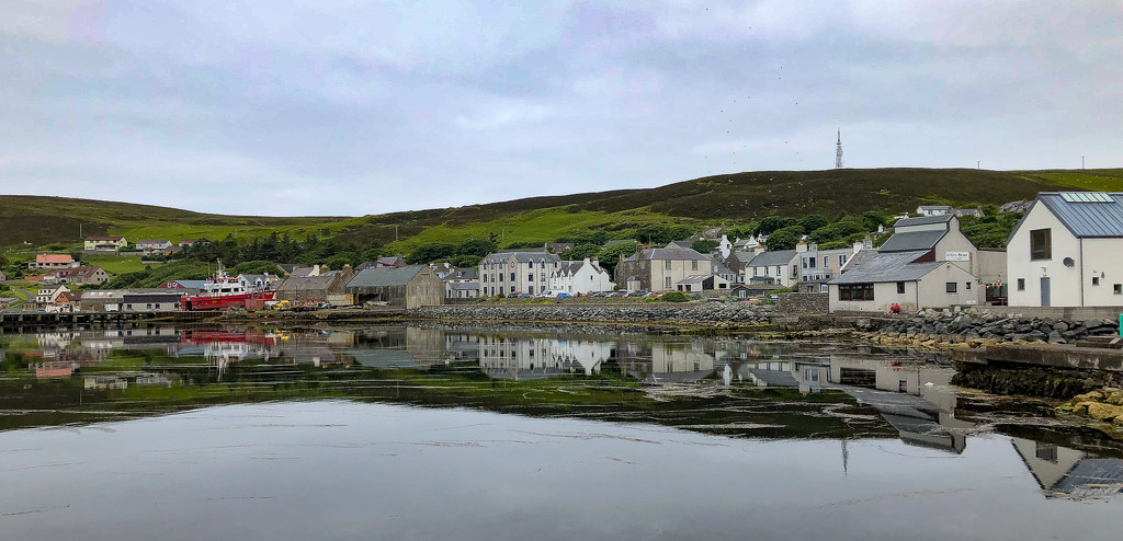 Scalloway Waterfront by lifeat60degrees