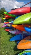 12th Jul 2019 - Colourful canoes!