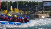 12th Jul 2019 - White water rafters at Lee Valley Park in Cheshunt