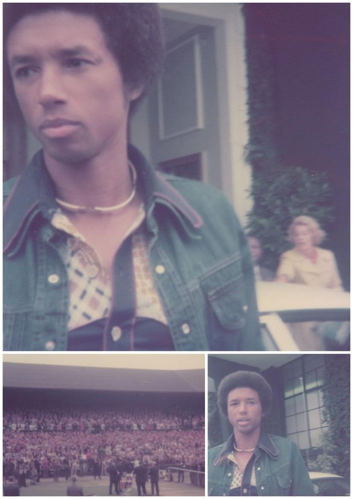 Wimbledon Men's Final, 1975 by rumpelstiltskin