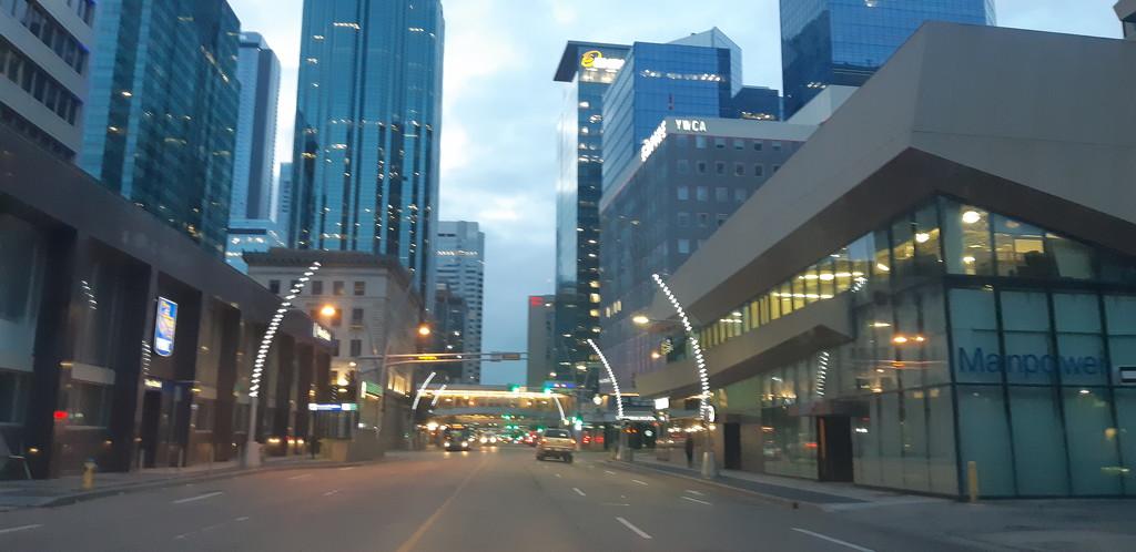 Downtown Edmonton  by bkbinthecity