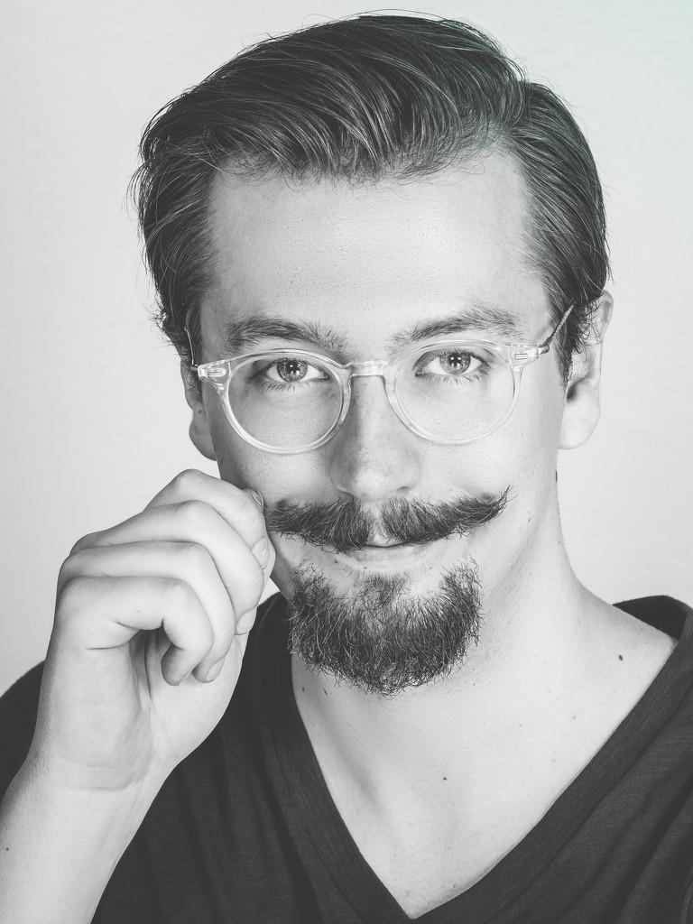 Mustache Twirl by rosiekerr