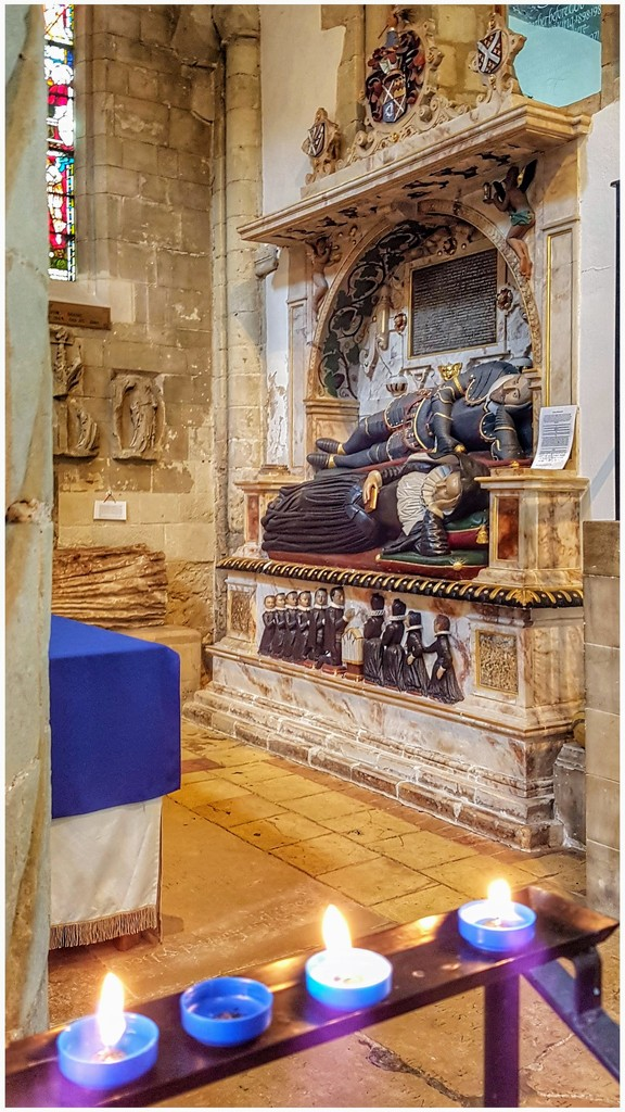Inside Waltham Abbey  by lyndamcg