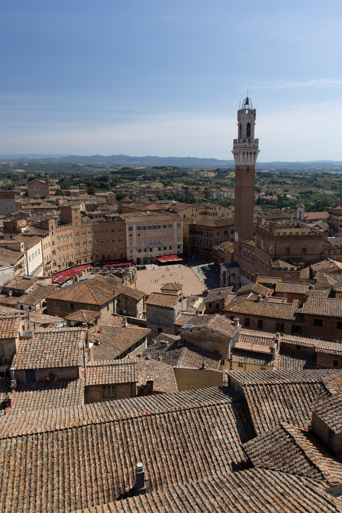 Torre di Mangia Siena by angelikavr