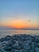 13th Jul 2019 - Sunset from Fort Brescou.