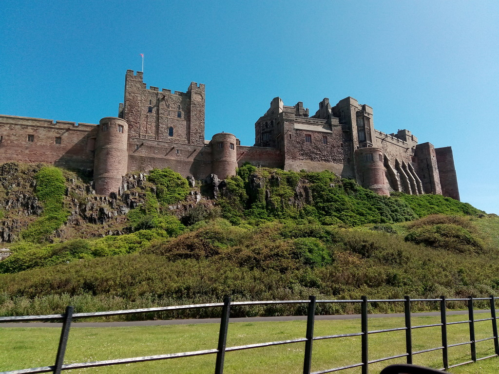 Bamburgh castle we drove past on our first day exploring by ilovelenses