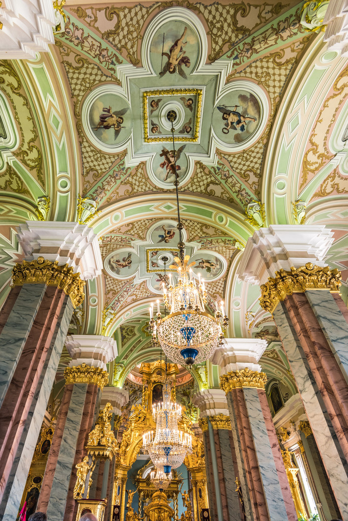 Inside Peter and Paul Cathedral by kwind