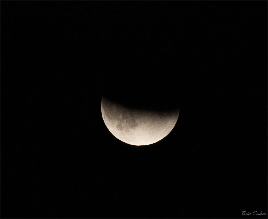 Moon Partial Eclipse by pcoulson