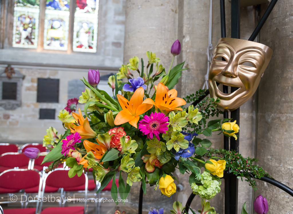 Ripon Cathedral Flowers by dorsethelen