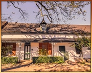 18th Jul 2019 - One of the old homes in Stellenbosch.