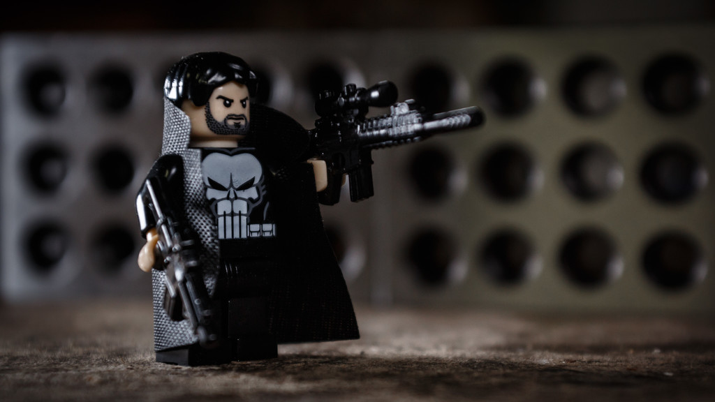 Lego Punisher by batfish