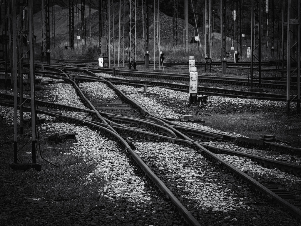 A rail crossover by haskar