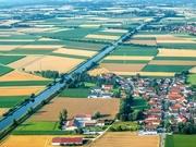 19th Jul 2019 - Approaching Munich airport.