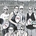 Ladies Pickleball group
