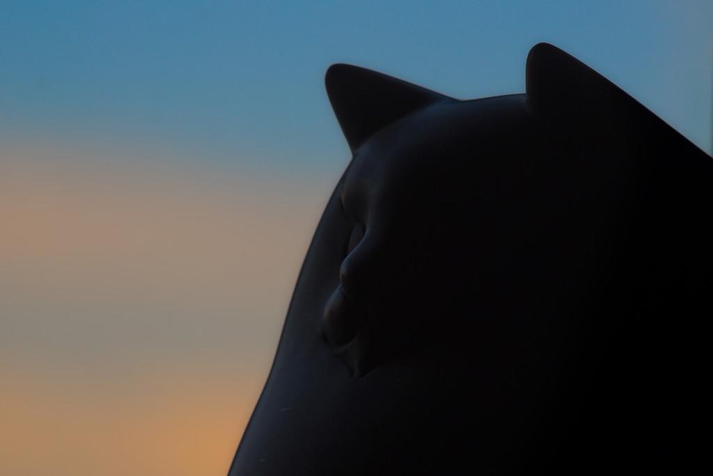 Sentry Cat by teriyakih