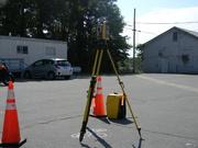 19th Jul 2019 - Surveying Equipment in Parking Lot