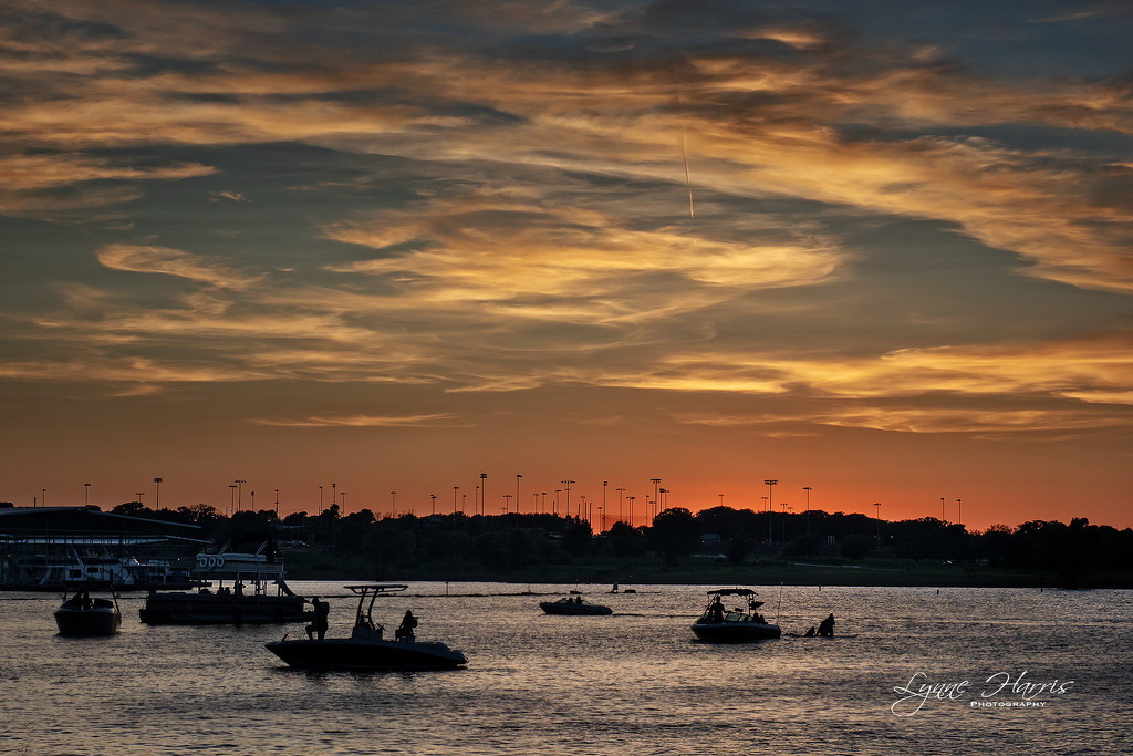 Sunset before Fireworks by lynne5477