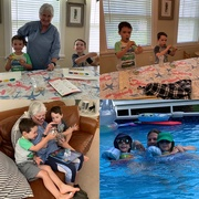 20th Jul 2019 - A day with the great nephews