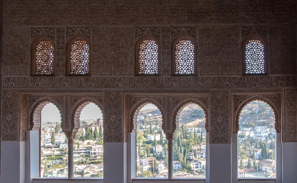 Alhambra Framed by brigette