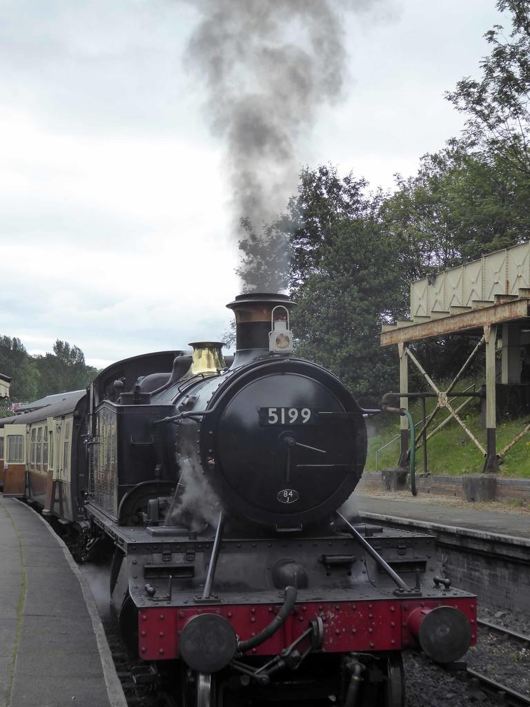 Old Steam Train by cmp