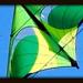 Kite Abstract