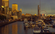 20th Jun 2019 - Seattle Harbor in the Evening
