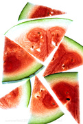 22nd Jul 2019 - watermelon abstract
