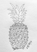 23rd Jul 2019 - Pineapple