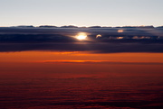 22nd Jul 2019 - Sunset from the air