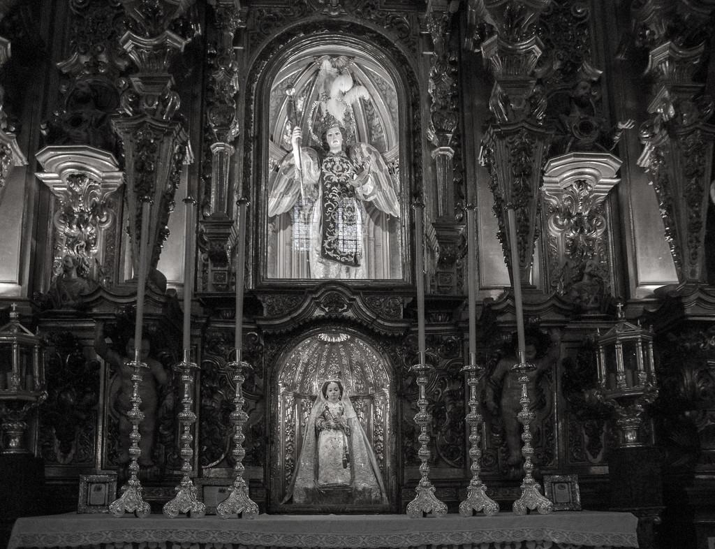 Basilica San Juan de Dois Framed by brigette