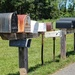 Rural mailboxes by mittens