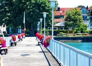 26th Jul 2019 - A boardwalk on Lake Constance.