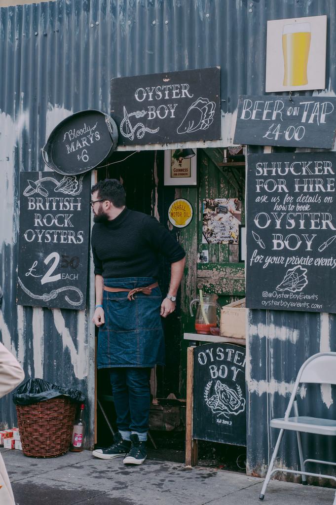 Oyster Boy Framed by brigette