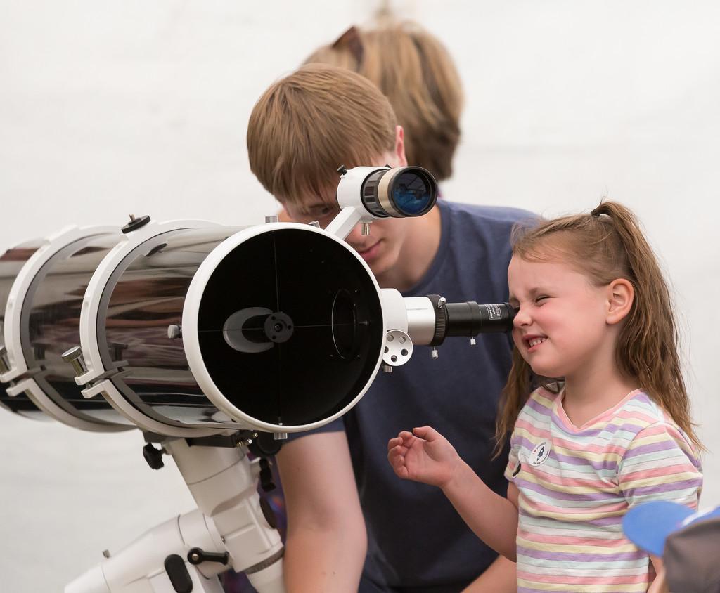 Look Through a Telescope by dorsethelen