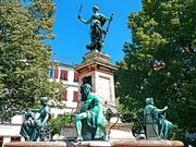 27th Jul 2019 - A fountain in Lindau